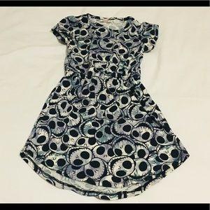 LulaRoe jack skeleton dress